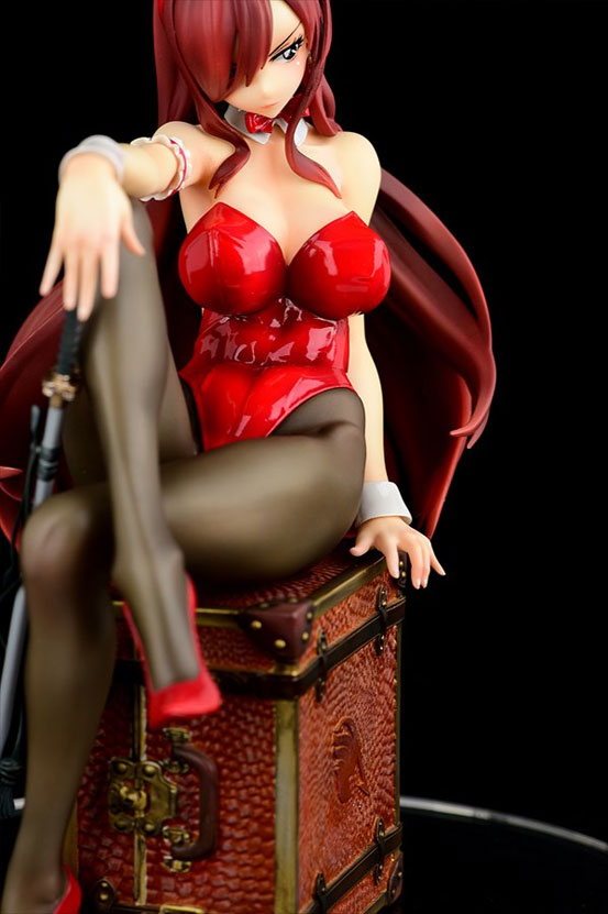 FAIRY TAIL エルザ・スカーレット Bunny girl_Style/type rosso オルカトイズ フィギュアが再販予約開始! 0415hobby-elsarosso-IM001