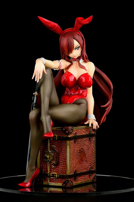 FAIRY TAIL エルザ・スカーレット Bunny girl_Style/type rosso オルカトイズ フィギュアが再販予約開始! 0415hobby-elsarosso-IM004