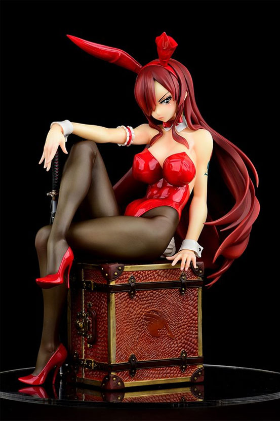 FAIRY TAIL エルザ・スカーレット Bunny girl_Style/type rosso オルカトイズ フィギュアが再販予約開始! 0415hobby-elsarosso-IM005