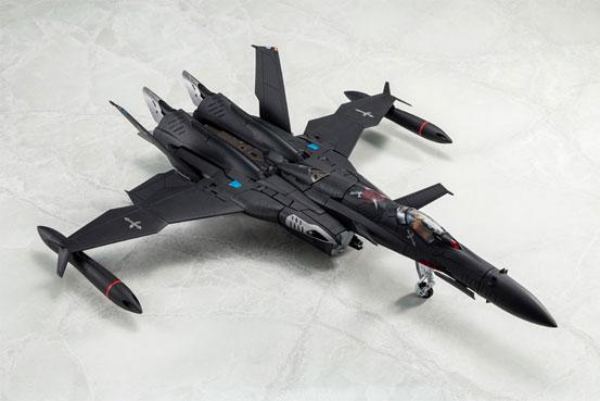 マクロスゼロ 1/60 完全変形SV-51γ D.D.イワノフ搭乗機 最終決戦仕様 アルカディア 可動フィギュアが予約開始! 0427hobby-macross-IM001