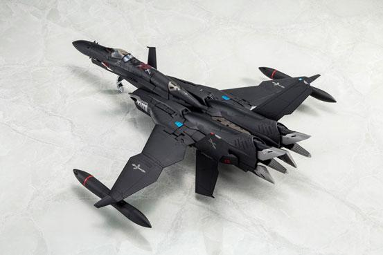 マクロスゼロ 1/60 完全変形SV-51γ D.D.イワノフ搭乗機 最終決戦仕様 アルカディア 可動フィギュアが予約開始! 0427hobby-macross-IM002