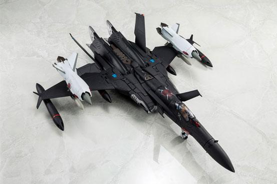 マクロスゼロ 1/60 完全変形SV-51γ D.D.イワノフ搭乗機 最終決戦仕様 アルカディア 可動フィギュアが予約開始! 0427hobby-macross-IM003
