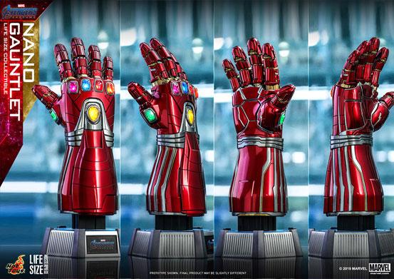 アベンジャーズ/エンドゲーム「ナノ・ガントレット」1/1スケール・1/4スケール(ハルク版) ホットトイズが予約開始! 0510hobby-nanoG-IM004