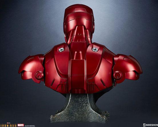 『アイアンマン』 等身大バスト アイアンマン・マーク3 サイドショウが予約開始!全高約68cmの等身大バスト! 0511hobby-ironman-IM005
