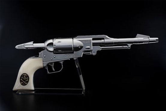 コスモ ドラグーン(戦士の銃) メーテルver. 1/1 ウォーターガン が予約開始!シルバーの銃身が美しいメーテルver.! 0515hobby-metel-IM002
