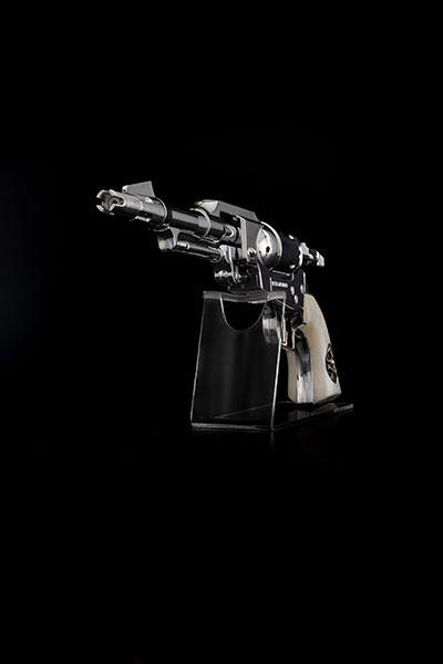 コスモ ドラグーン(戦士の銃) メーテルver. 1/1 ウォーターガン が予約開始!シルバーの銃身が美しいメーテルver.! 0515hobby-metel-IM004