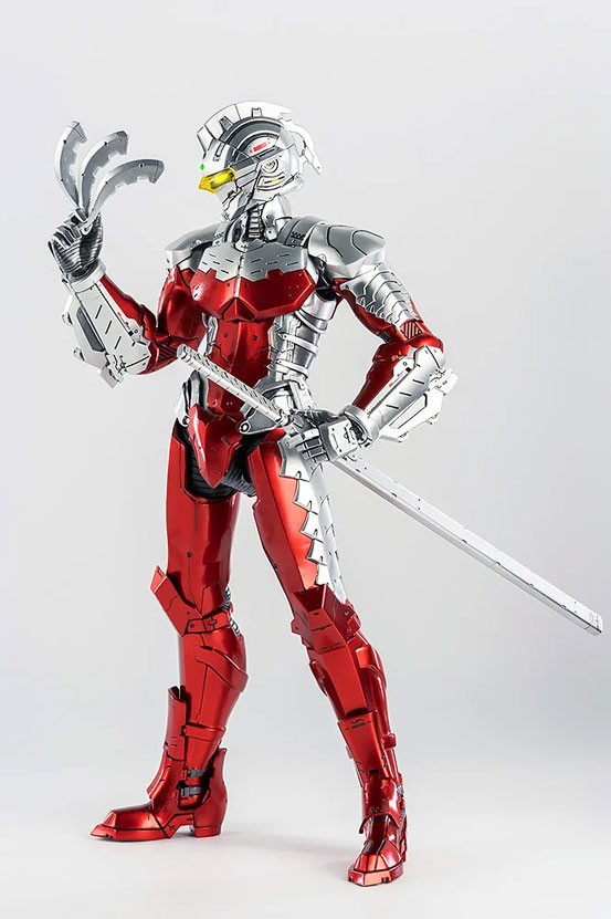 1/6 ULTRAMAN SUIT Ver7 (Anime Version) threezero 可動フィギュアが予約開始! 0530hobby-ultra7-IM001-1