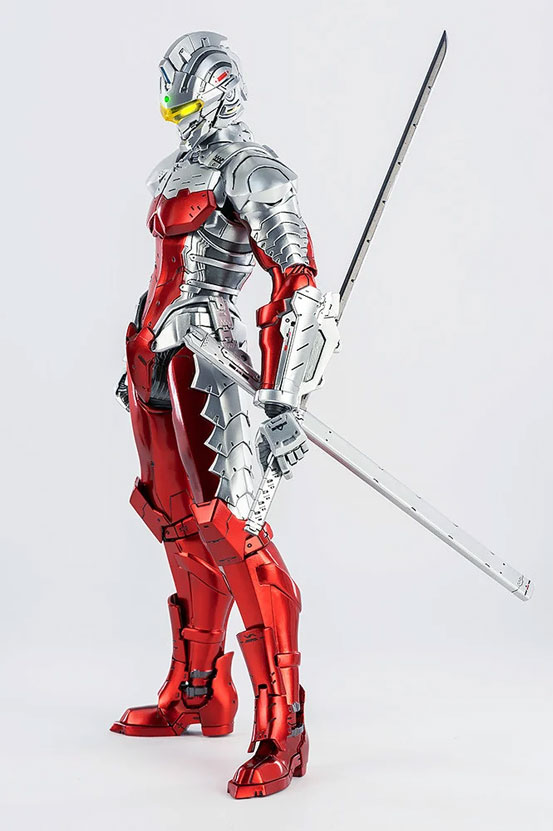 1/6 ULTRAMAN SUIT Ver7 (Anime Version) threezero 可動フィギュアが予約開始! 0530hobby-ultra7-IM003