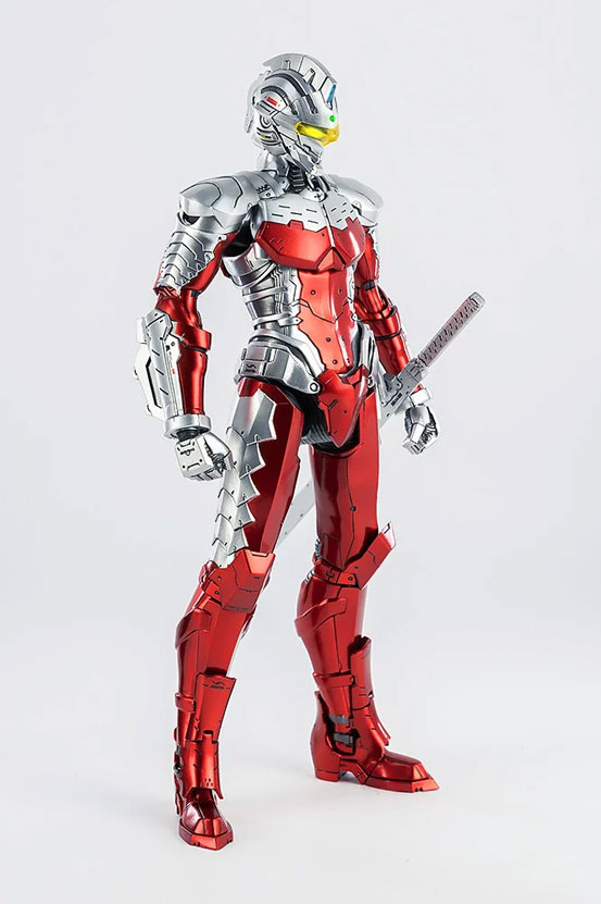 1/6 ULTRAMAN SUIT Ver7 (Anime Version) threezero 可動フィギュアが予約開始! 0530hobby-ultra7-IM006