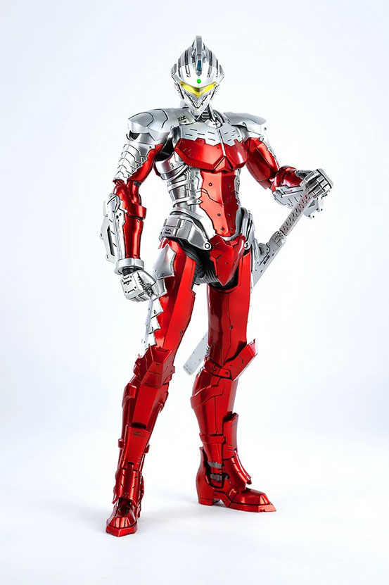 1/6 ULTRAMAN SUIT Ver7 (Anime Version) threezero 可動フィギュアが予約開始! 0530hobby-ultra7-IM007