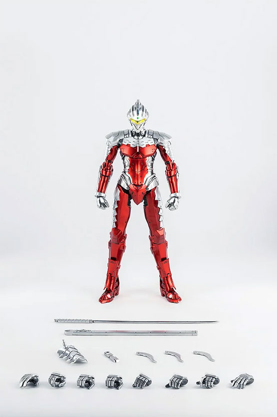 1/6 ULTRAMAN SUIT Ver7 (Anime Version) threezero 可動フィギュアが予約開始! 0530hobby-ultra7-IM008