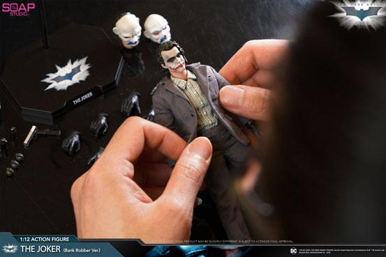 ダークナイト 1/12 アクションフィギュア「ジョーカー 銀行強盗 Ver.」ソープスタジオが予約開始! 0612hobby-joker-IM005