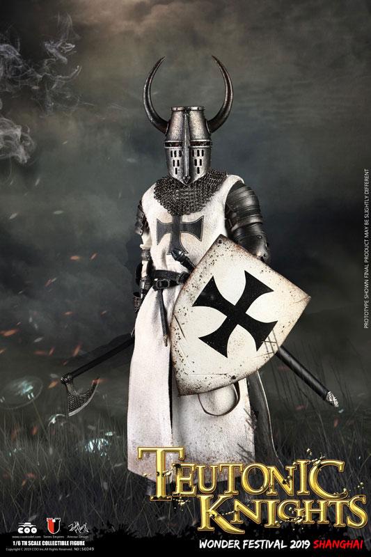 COO Model 1/6 帝国シリーズ 十字軍「チュニックナイト/聖ヨハネ騎士団」WF上海2019版が予約開始! 0626hobby-coomodel-IM001