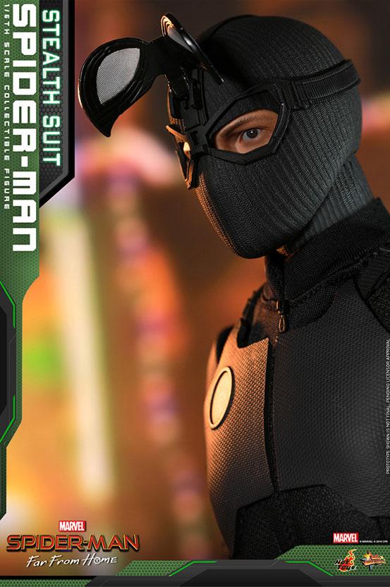 【入荷】ムービー・マスターピース『スパイダーマン:ファー・フロム・ホーム』「スパイダーマン(ステルススーツ版)」可動フィギュアが登場! 0626hobby-spiderman-IM004