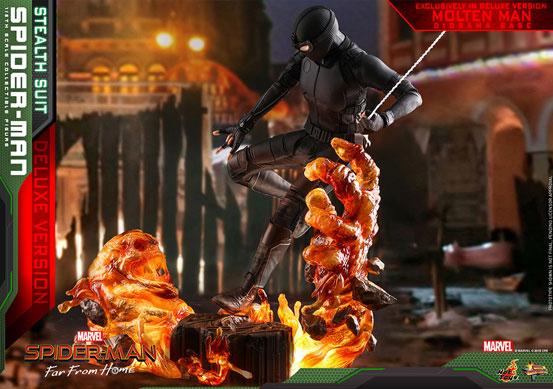 【入荷】ムービー・マスターピース『スパイダーマン:ファー・フロム・ホーム』「スパイダーマン(ステルススーツ版)」可動フィギュアが登場! 0626hobby-spiderman-IM007