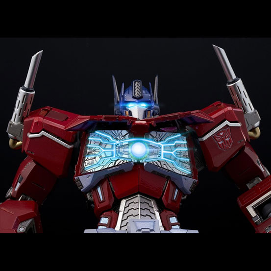 【特典あり版追加(1/18)】鉄機巧 Optimus Prime Flame Toys 可動フィギュアが予約受付中! 0627hobby-Flametoys-IM002