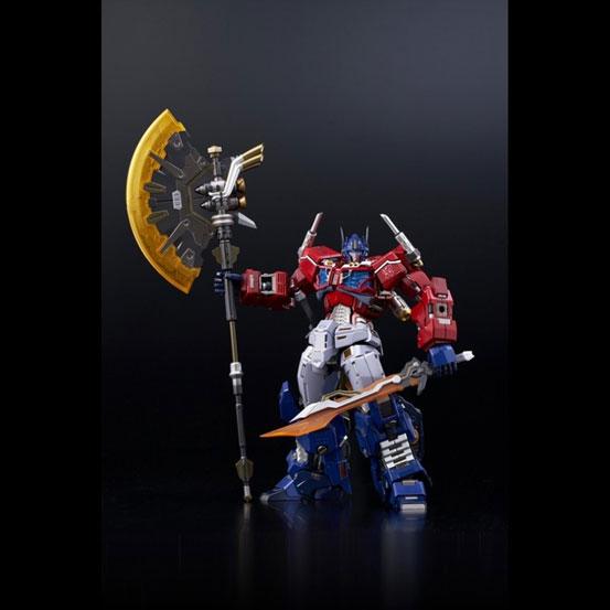 【特典あり版追加(1/18)】鉄機巧 Optimus Prime Flame Toys 可動フィギュアが予約受付中! 0627hobby-Flametoys-IM004