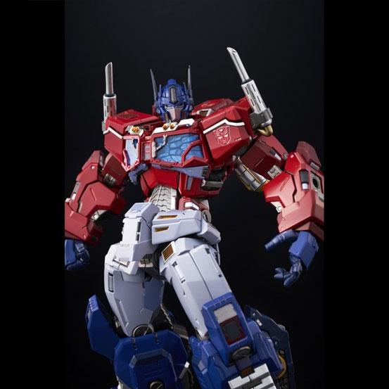 【特典あり版追加(1/18)】鉄機巧 Optimus Prime Flame Toys 可動フィギュアが予約受付中! 0627hobby-Flametoys-IM008