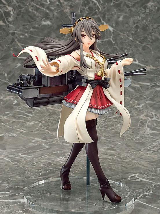 艦隊これくしょん -艦これ-「榛名」ファット フィギュアが予約開始!戦闘時の姿をイメージしたポージングで立体化! 0627hobby-haruna-IM001