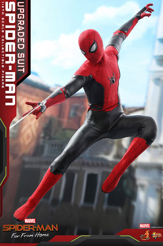 ムービー・マスターピース『スパイダーマン:ファー・フロム・ホーム』「スパイダーマン(アップグレードスーツ版)」可動フィギュアが予約開始! 0628hobby-spiderman-IM001