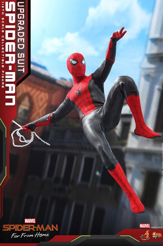 ムービー・マスターピース『スパイダーマン:ファー・フロム・ホーム』「スパイダーマン(アップグレードスーツ版)」可動フィギュアが予約開始! 0628hobby-spiderman-IM002