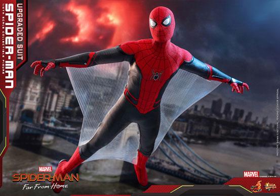 ムービー・マスターピース『スパイダーマン:ファー・フロム・ホーム』「スパイダーマン(アップグレードスーツ版)」可動フィギュアが予約開始! 0628hobby-spiderman-IM006