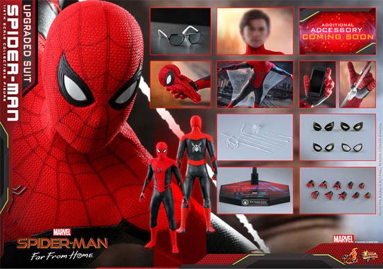 ムービー・マスターピース『スパイダーマン:ファー・フロム・ホーム』「スパイダーマン(アップグレードスーツ版)」可動フィギュアが予約開始! 0628hobby-spiderman-IM007