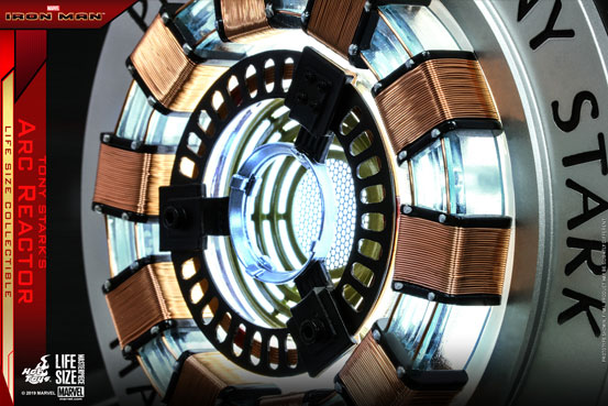 ライフサイズマスターピース アイアンマン 1/1「アーク・リアクター」が予約開始!ライトアップ機能も搭載! 0718hobby-arkreac-IM005