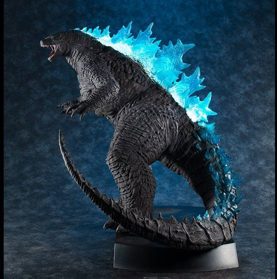 【入荷】UA Monsters ゴジラ2019 メガハウス フィギュアが一部店舗限定で登場!咆哮音とライトアップギミックを搭載! 0725hobby-godzila-IM003