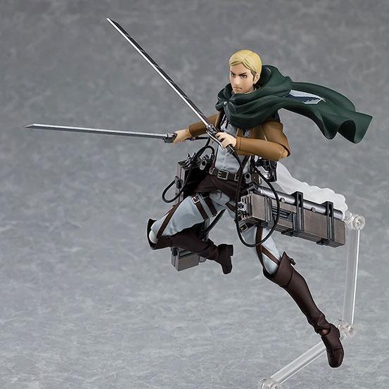 figma 進撃の巨人「エルヴィン・スミス」マックスファクトリー 可動フィギュアが予約開始!乗馬可能な「馬」まで付属する豪華仕様! 0806hobby-elvin-IM003