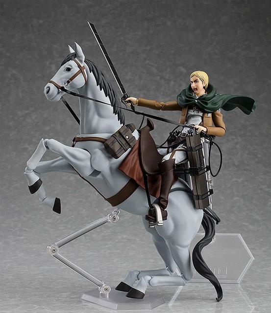 figma 進撃の巨人「エルヴィン・スミス」マックスファクトリー 可動フィギュアが予約開始!乗馬可能な「馬」まで付属する豪華仕様! 0806hobby-elvin-IM005