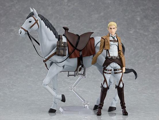 figma 進撃の巨人「エルヴィン・スミス」マックスファクトリー 可動フィギュアが予約開始!乗馬可能な「馬」まで付属する豪華仕様! 0806hobby-elvin-IM006