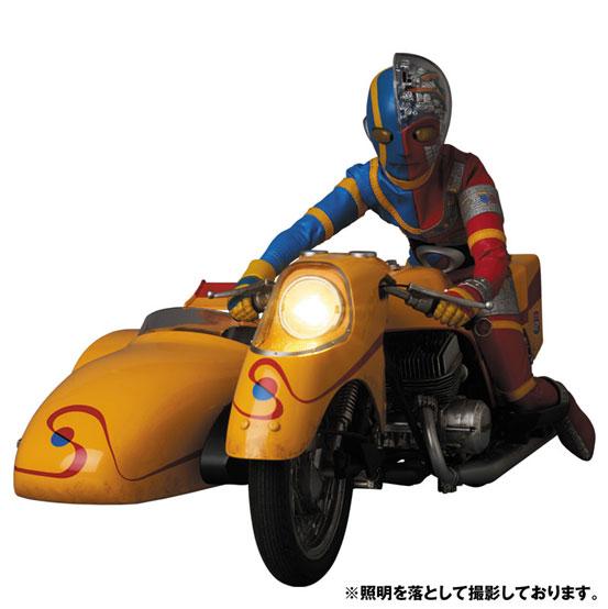 リアルアクションヒーローズ No.784 RAH「キカイダー & サイドマシーン究極版セット」可動フィギュアが予約開始! 0824hobby-kikaider-IM005