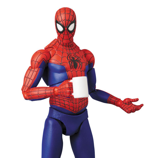 マフェックス『スパイダーバース』「SPIDER-MAN (Peter B. Parker)」可動フィギュアが予約開始! 0824hobby-spiderman-IM006
