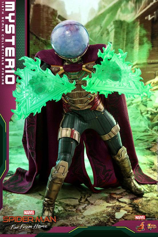 【入荷】ムービー・マスターピース『スパイダーマン:ファー・フロム・ホーム』「ミステリオ」ホットトイズ 可動フィギュアが登場! 0910hobby-hottoys-IM003