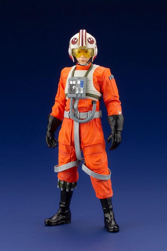 ARTFX+ ルーク・スカイウォーカー X-WINGパイロット『スター・ウォーズ』コトブキヤ フィギュアが予約開始! 0912hobby-SW-Luke-IM002