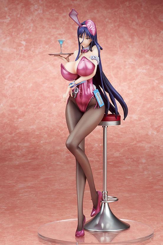 魔法少女 ミサ姉 バニーガールStyle ミスティックピンク キューズQ フィギュアが予約開始!リペイント版! 0920hobby-misanee-IM005