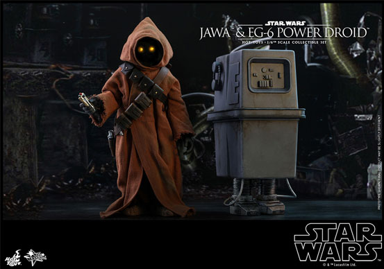 ムービー・マスターピース『スター・ウォーズ エピソード4』ジャワ&EG-6パワードロイド(2体セット) 可動フィギュアが予約開始! 0924hobby-jawa-IM001