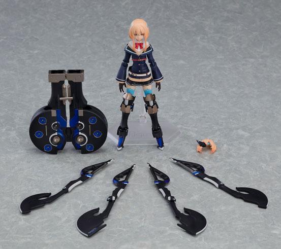 figma 重兵装型女子高生「参」可動フィギュアが予約開始!大きな斧と鞘を持った、ジト目眼帯女子高生! 0927hobby-jyoshikosei-IM005