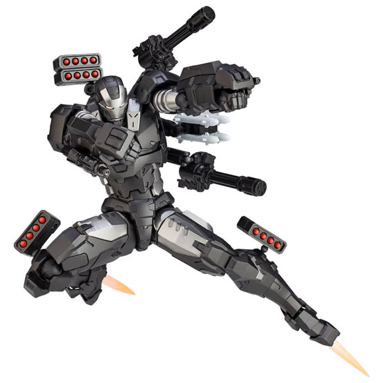 【入荷】アメイジング・ヤマグチ 016 ウォーマシン 海洋堂 可動フィギュアが登場!全身に近代兵器を搭載! 0927hobby-warmachine-IM008