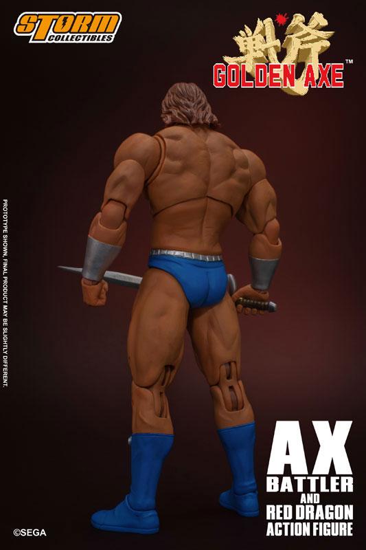 ゴールデンアックス アックス=バトラー & レッドドラゴン アクションフィギュア セットが予約開始! 1102hobby-goldenAxe-IM002