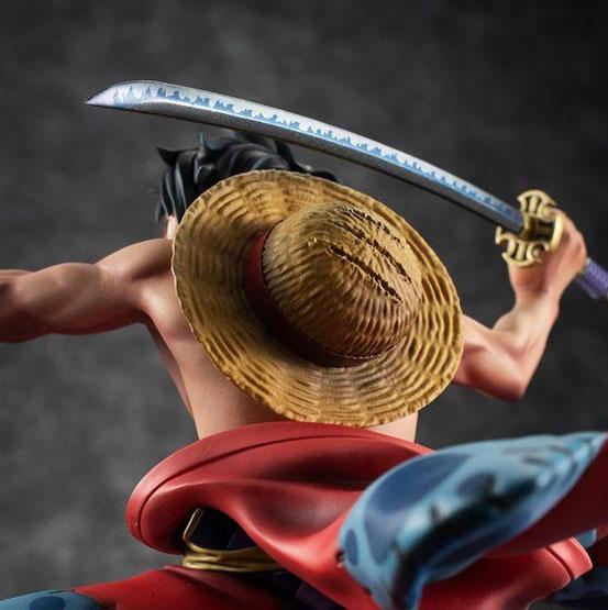 """P.O.P ワンピース """"Warriors Alliance"""" ルフィ太郎 フィギュアが一部店舗限定で予約開始! 1204hobby-lufy-IM001"""