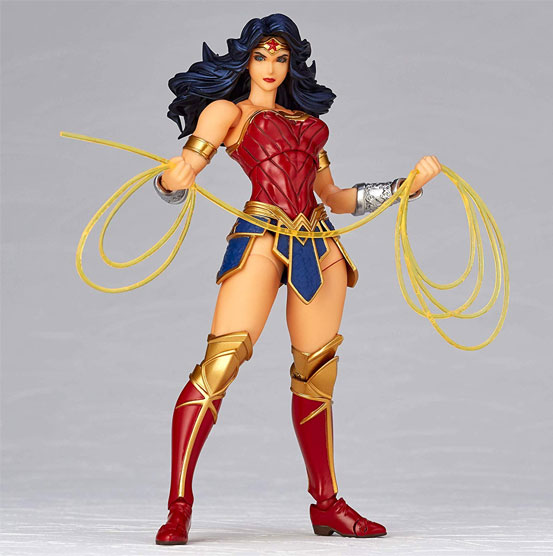 アメイジング・ヤマグチ No.017 Wonder Woman(ワンダーウーマン) 可動フィギュアが予約開始! 1213hobby-wonderwoman-IM006