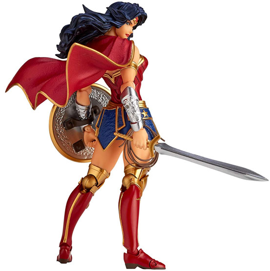 アメイジング・ヤマグチ No.017 Wonder Woman(ワンダーウーマン) 可動フィギュアが予約開始! 1213hobby-wonderwoman-IM007