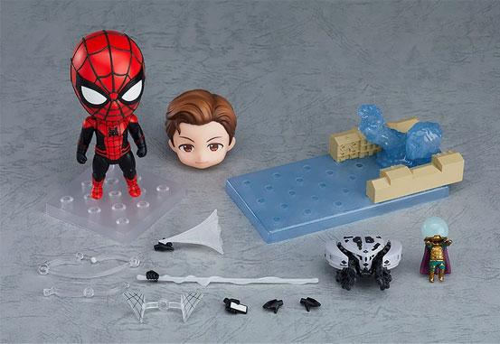 ねんどろいど スパイダーマン ファー・フロム・ホーム Ver. DX/通常版 可動フィギュアが予約開始! 0130hobby-spidy-IM001