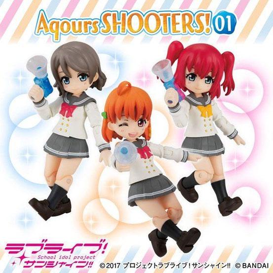 ラブライブ!サンシャイン!! Aqours SHOOTERS!01 バンダイが予約開始!3人セット! 0203hobby-Aqours-IM004