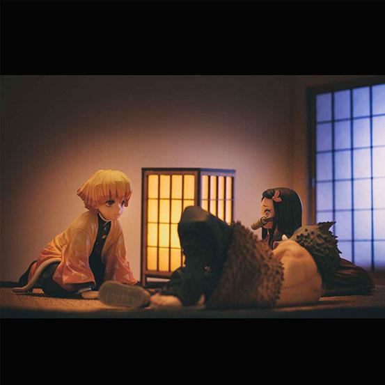 【入荷】G.E.M.シリーズ 鬼滅の刃 てのひら善逸くん メガハウス フィギュアが登場! 0205hobby-zenitsu-IM001