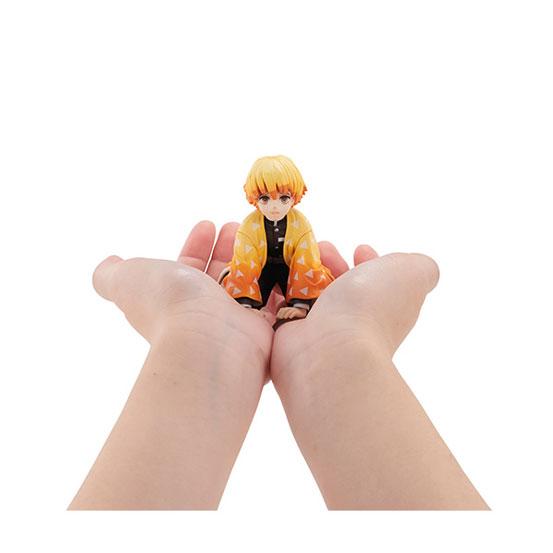 【入荷】G.E.M.シリーズ 鬼滅の刃 てのひら善逸くん メガハウス フィギュアが登場! 0205hobby-zenitsu-IM002