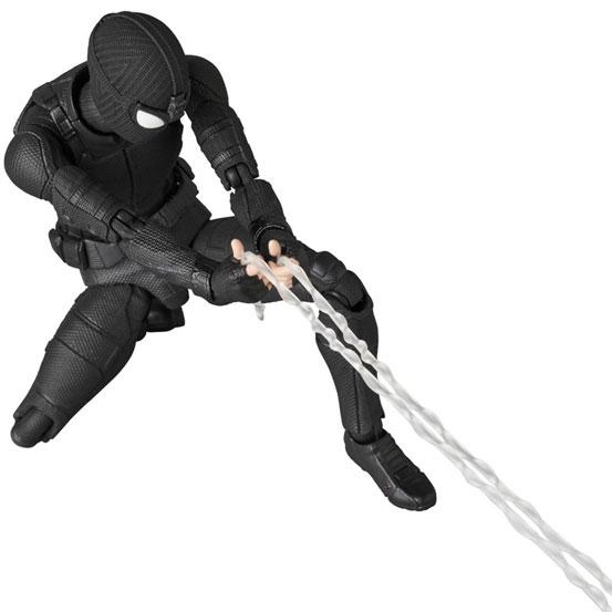 マフェックス No.125 MAFEX SPIDER-MAN Stealth Suit 可動フィギュアが予約開始! 0224hobby-spidy-IM002