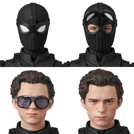 マフェックス No.125 MAFEX SPIDER-MAN Stealth Suit 可動フィギュアが予約開始! 0224hobby-spidy-IM005